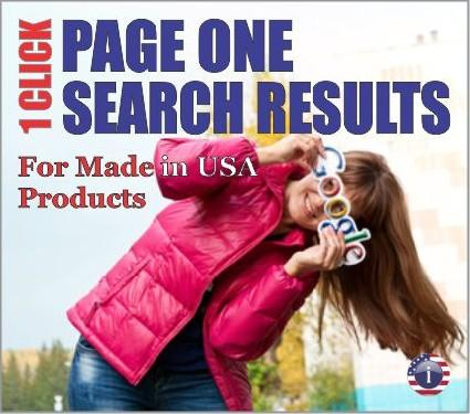 Page One Search Results for Made in America Products