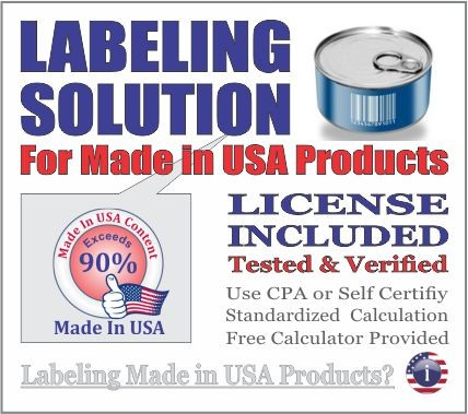 Labeling Solution for Made in USA Products